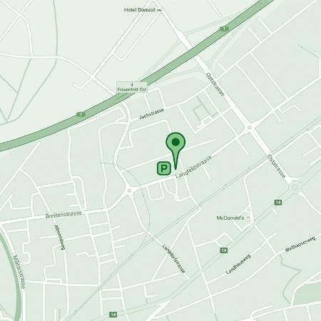 Google-Kartenausschnitt